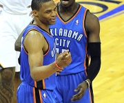 "Reggie Jackson: ""I am sure Westbrook thinks he is the best and I do the same"""