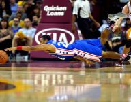 Phil Pressey dives for a loose ball and other great pictures of the night
