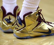 LeBron James' sneakers through the years