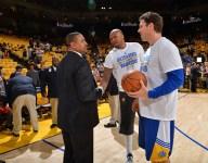 Warriors' Marreese Speights endorses Mark Jackson for Suns' coaching job