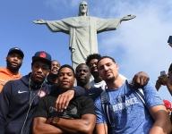 Team USA goes Rio sightseeing