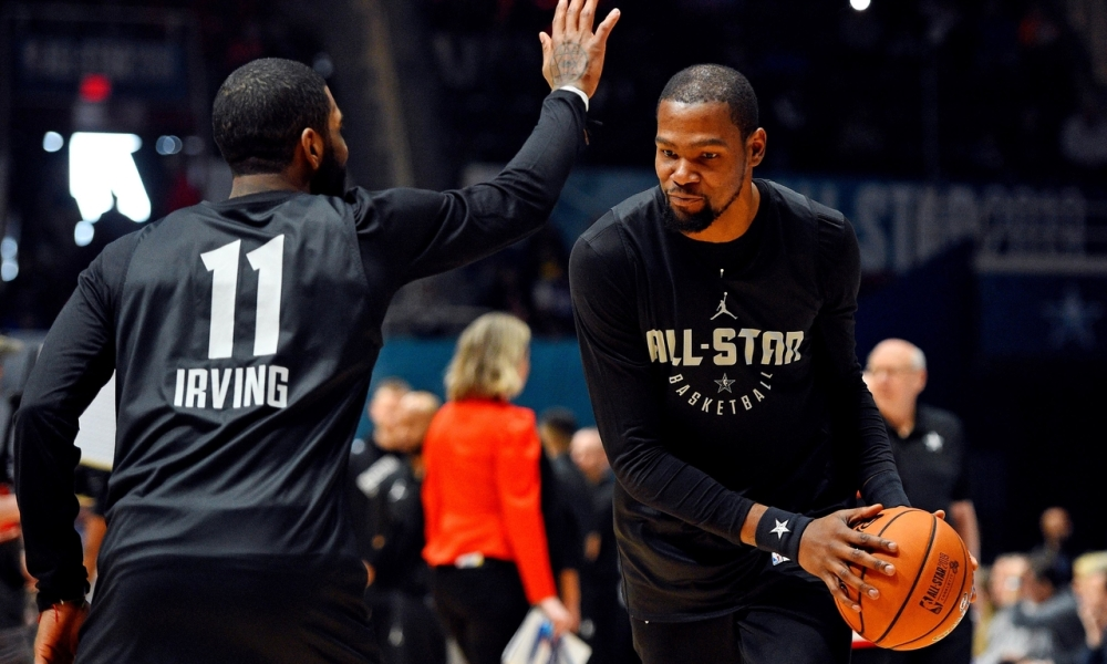 Kevin Durant and Kyrie Irving, Brooklyn Nets