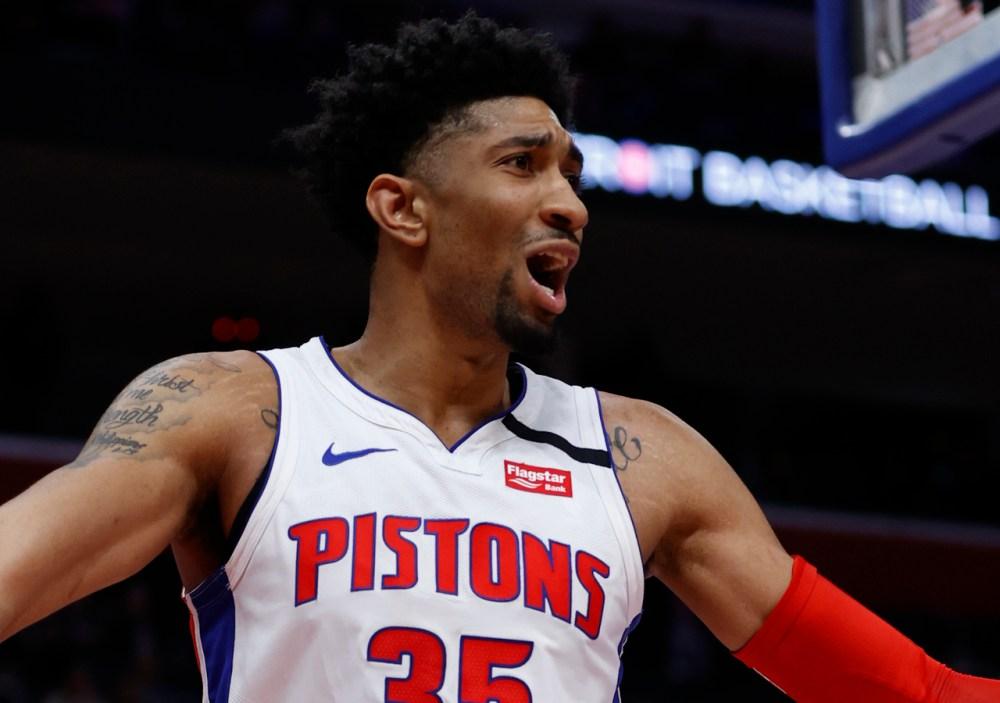 Christian Wood, Detroit Pistons