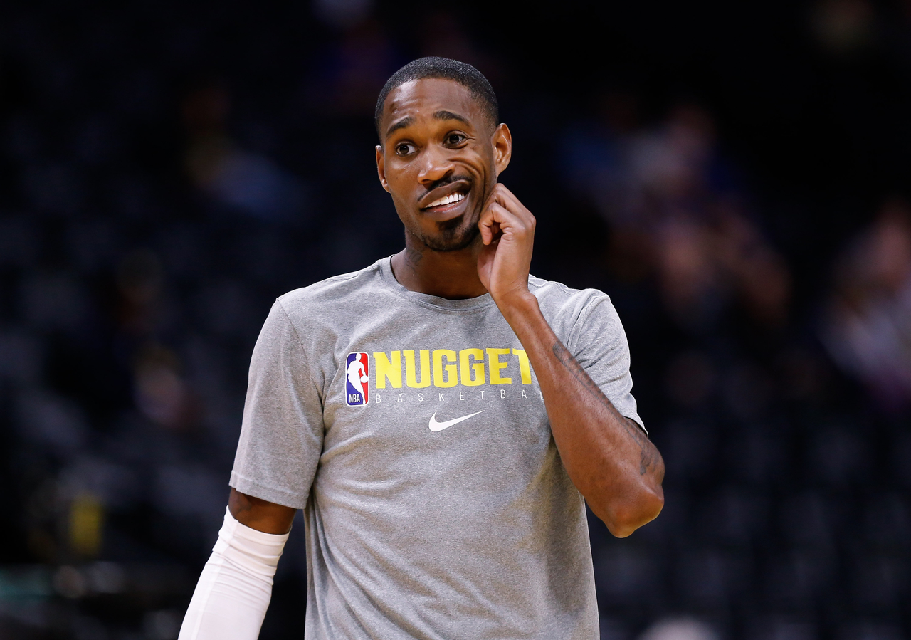 Will Barton during warm up