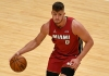 Meyers Leonard driving the ball