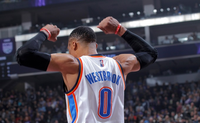 WATCH: Highlights from Russell Westbrook's history 2016-17 season