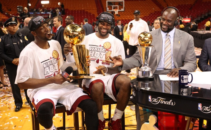 Shaquille O'Neal has been a teammate of an NBA champ every year since 1983