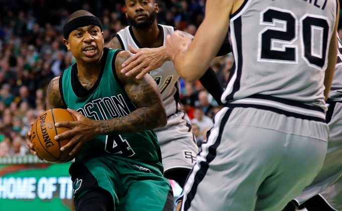 Isaiah Thomas knows there isn't going to be another last pick like him