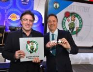 Celtics owner responds to winning draft lottery