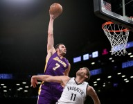 Lakers' Larry Nance Jr. jokes about not winning Dunk of the Year award
