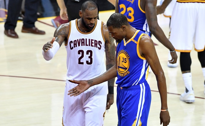 LeBron James will be honest about Durant-to-Warriors 'in a few years'
