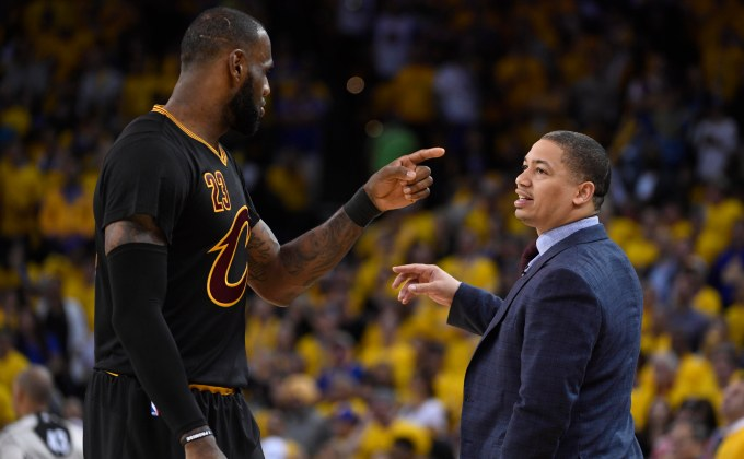 NBA front offices think LeBron James could leave Cleveland in one year