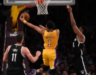 D'Angelo Russell got mixed reaction during first Brooklyn introduction