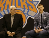 Report: Knicks' Phil Jackson wanted to deal Kristaps Porzingis for Lonzo Ball