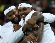 DeMarcus Cousins is eyeing Carmelo Anthony to the Pelicans