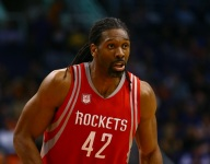 Nenê excited to play alongside Paul, Harden on new-look Rockets