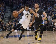 Giannis Antetokounmpo has better MVP odds than Stephen Curry