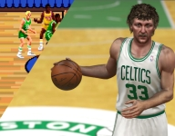 Larry Bird in videogames through the years