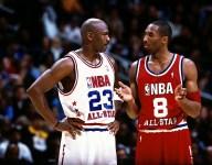 More NBA players wear shoes from Kobe Bryant than Michael Jordan