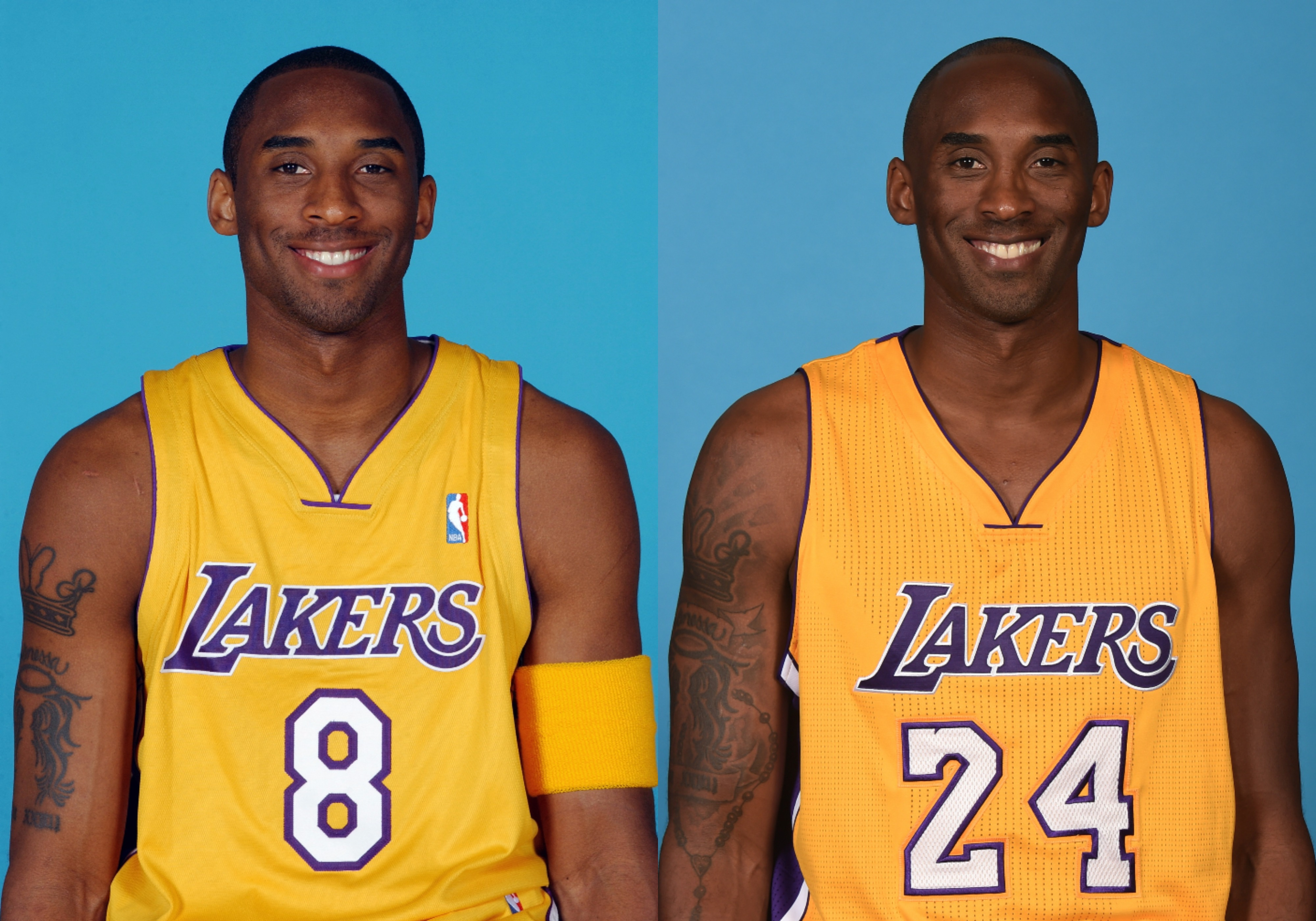 Will the Lakers retire both No. 8 and No. 24 jerseys for Kobe Bryant?
