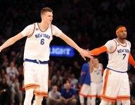 Knicks' 2-16 without Carmelo Anthony since Kristaps Porzingis arrived