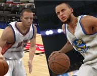Stephen Curry in video games through the years