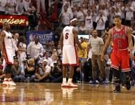 Derrick Rose made LeBron James, Dwyane Wade recruiting video in 2010