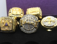 Take a look at NBA championship rings through the years