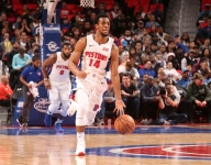 Piston guard Ish Smith is averaging fastest speed on an NBA court