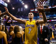 Lakers' Larry Nance Jr. on trade rumors, playing with Lonzo Ball, LeBron James/Paul George talk, LaVar Ball, dunk contest and more