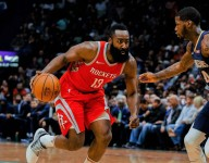 James Harden is the MVP favorite and Houston has the NBA's best record, but he's far from satisfied