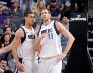 Mavericks bench has been incredible when playing with Dirk Nowitzki
