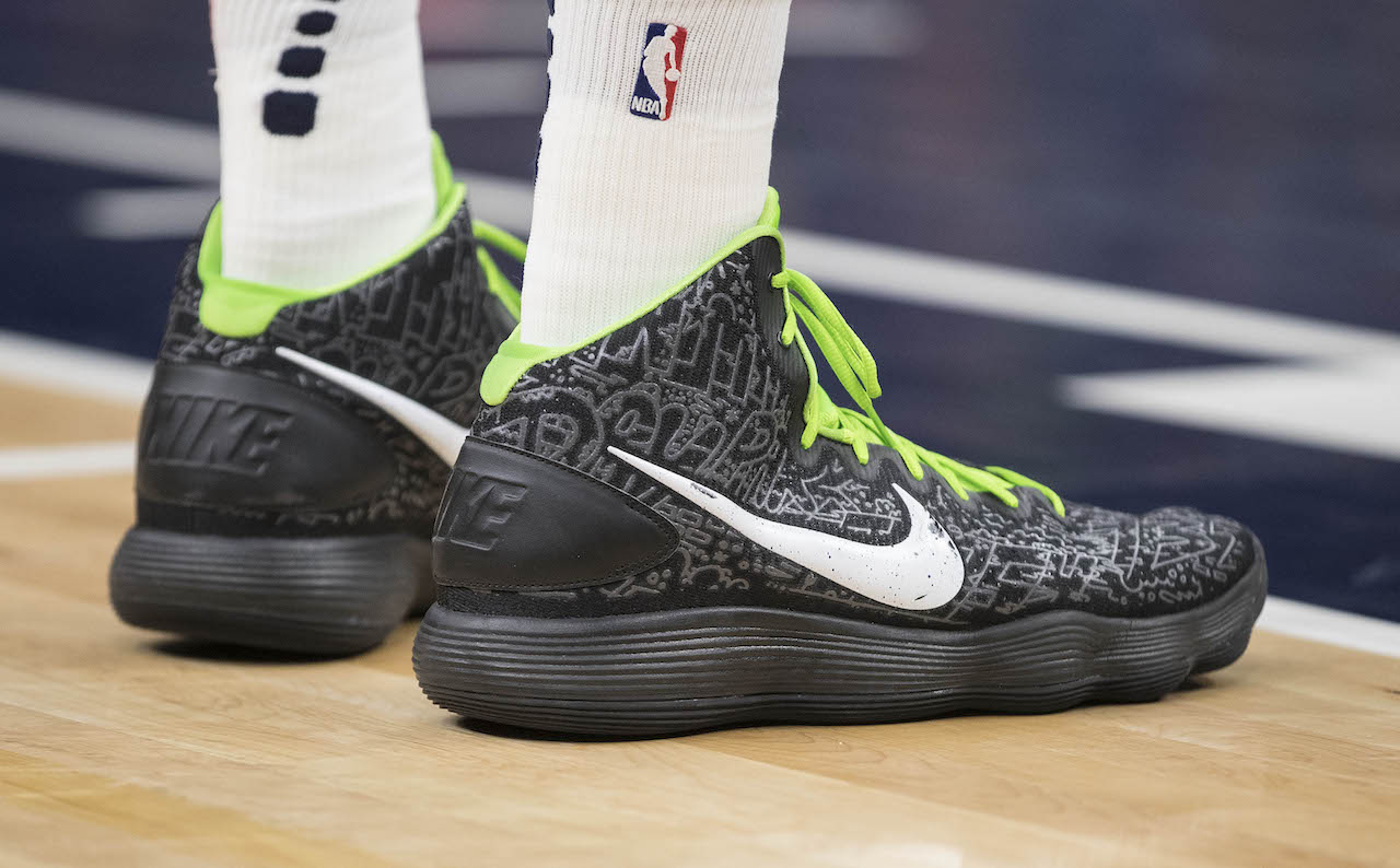 Mal uso Meloso gobierno  NBA sneakers of the night: Karl-Anthony Towns breaks franchise record in  Hyperdunk and more | HoopsHype