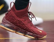 Sneakers of the night in the NBA: King James wears burgundy LeBrons and more