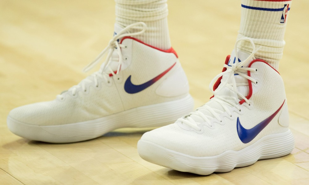 Idear Víspera de Todos los Santos Terrible  NBA sneakers of the night: Ben Simmons leads Sixers past Heat in Hyperdunks  and more   HoopsHype