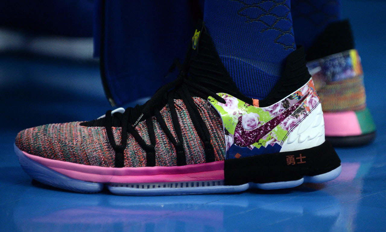 NBA sneakers of the night: Durant