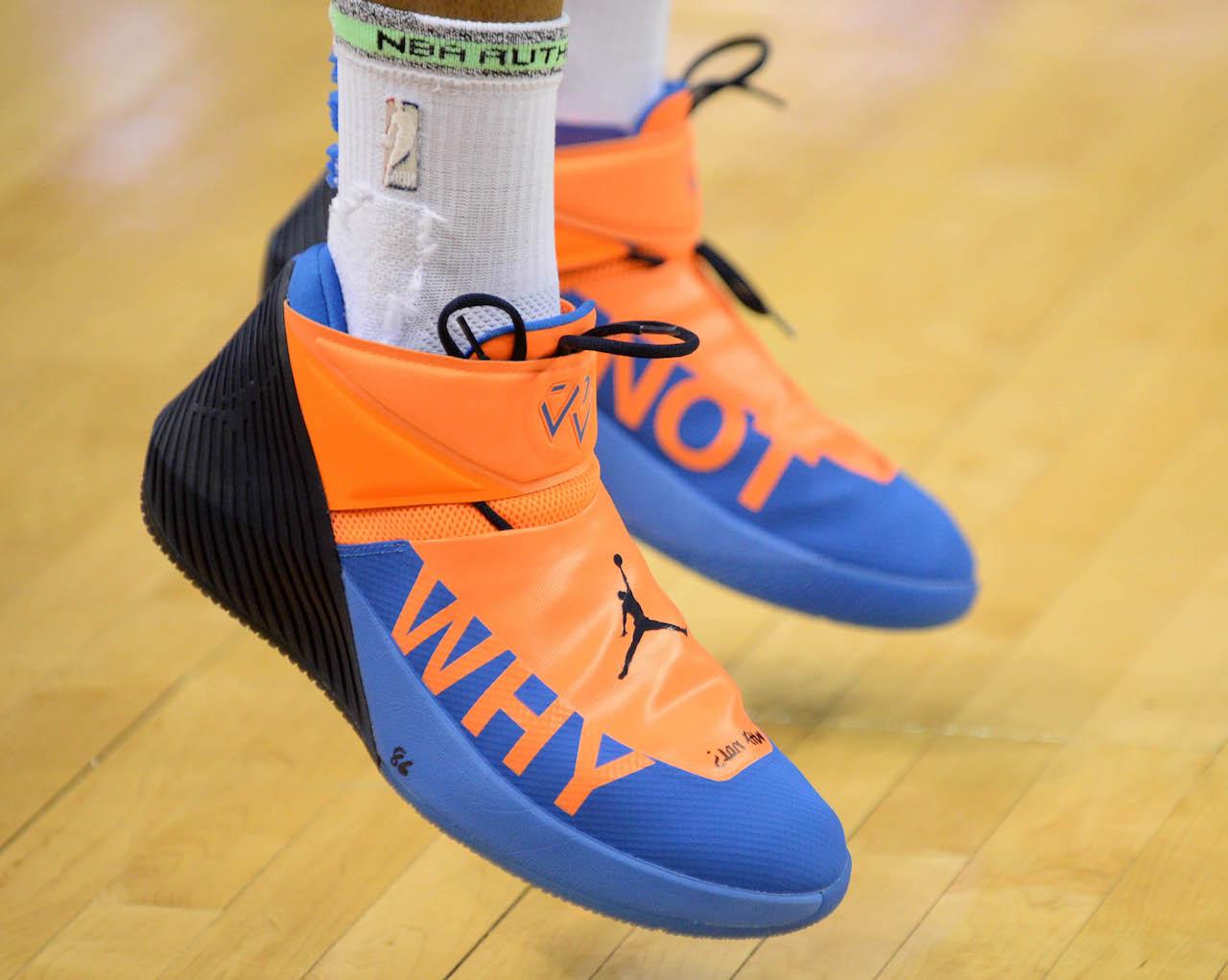 NBA sneakers of the night: Westbrook