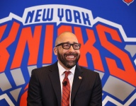 Knicks coach brought three players to watch Eastern Conference Finals