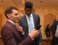Which top 2018 NBA draft prospects have the most Instagram influence?