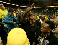 Celebrity sightings at the NBA Finals