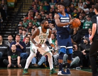 Kyrie Irving says he has not spoken much with Jimmy Butler since 2016