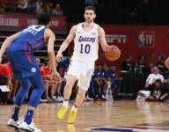 Lakers rookie Svi Mykhailiuk might be best three-point shooter on team