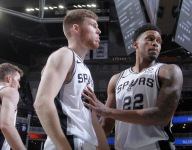 Spurs rank as best offense on catch-and-shoot and spot-up attempts