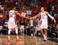 Bucks could run more dribble handoffs from Giannis Antetokounmpo