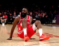 Video shows difference between contested, uncontested  threes for Harden