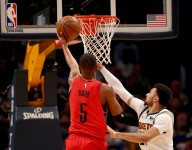 Rodney Hood has been excellent when posting up on mismatch defenders