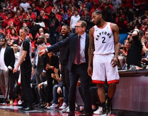 Nick Nurse third in a row to win first title as a rookie head coach