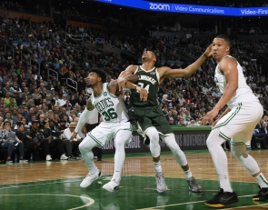 Celtics' Marcus Smart thriving as a defender when switching onto bigs