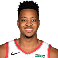 CJ McCollum has foot sprain