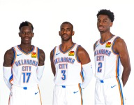 Thunder have had massive success when playing three point guards